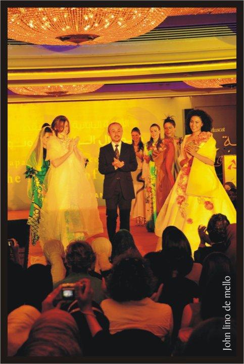 着物リメイク-ドレス-ファッションショー-Oman-オマーン-水谷哲也